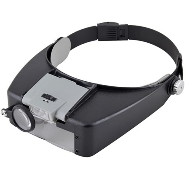 jewelers head headband magnifier magnifying glasses loupe. Black Bedroom Furniture Sets. Home Design Ideas