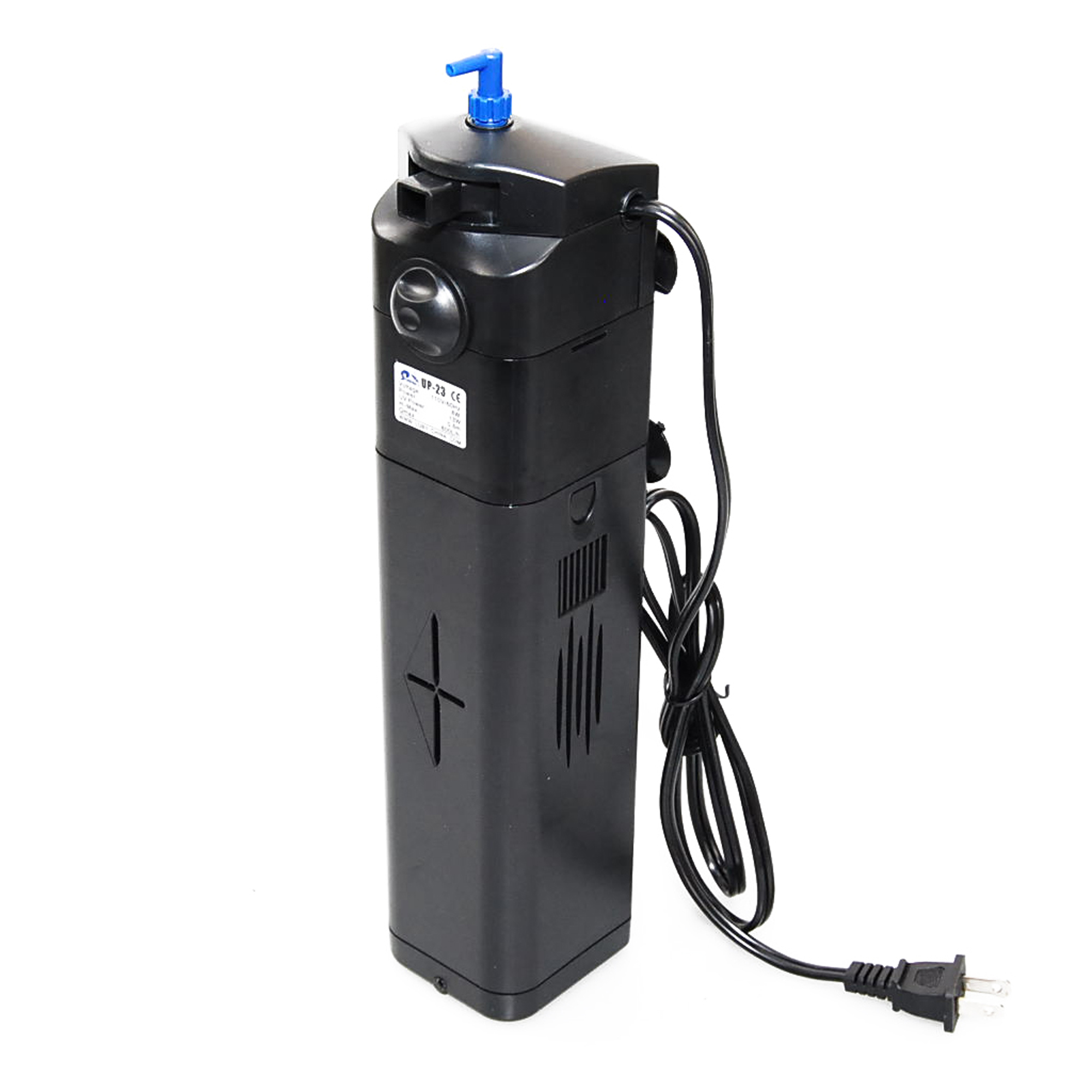 13w aquarium uv sterilizer submersible pump filter 150 gal for Uv filter for fish tank