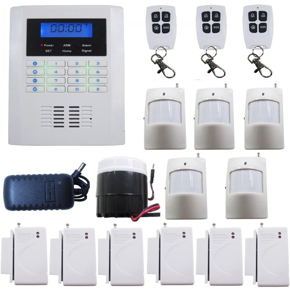 GSM  PSTN Wireless PIR Home Security Burglar Alarm System Auto Dialing  Dialer. GSM  PSTN Wireless PIR Home Security Burglar Alarm System Auto
