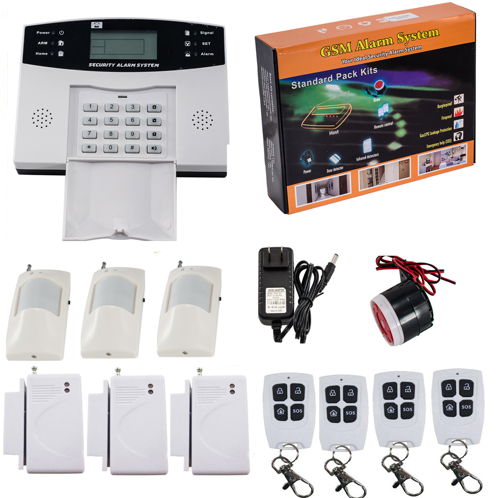 wired house alarm system - 28 images